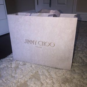 Jimmy choo shopping bag gift bag